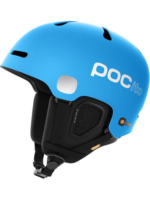 POC Kids POCito Fornix Helmet Flourescent Blue